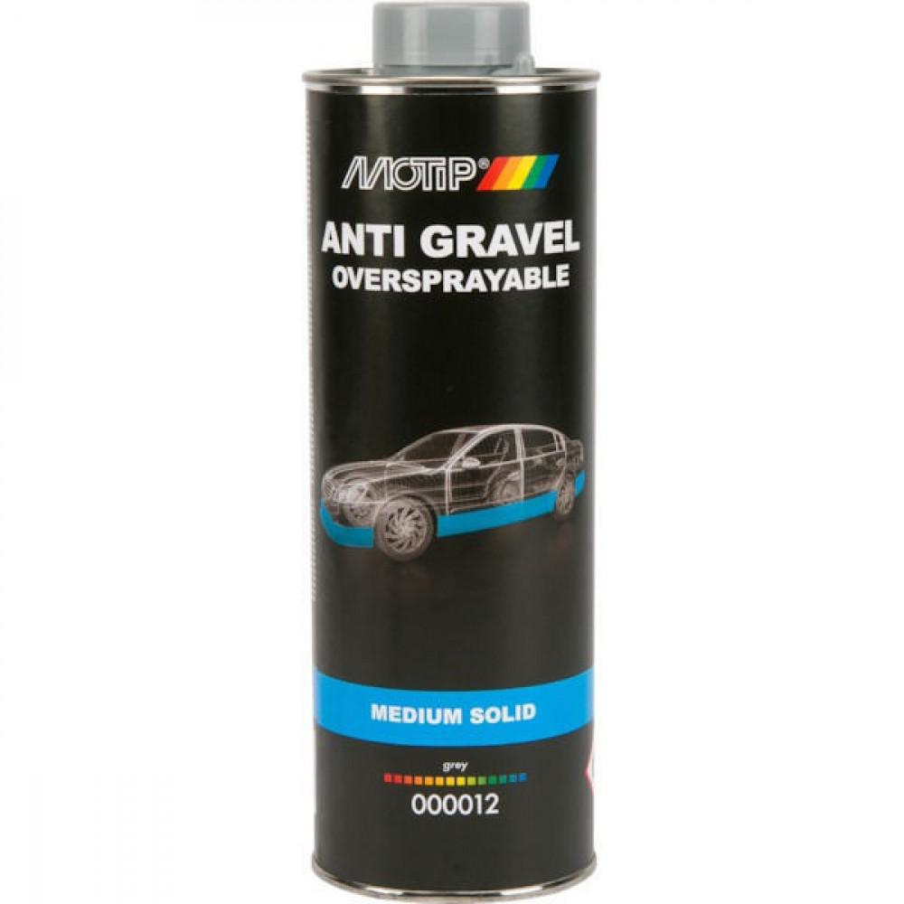 Motip Anti steenslag grijs 1000ml - 000012   Goede corrosiewering   1000 ml
