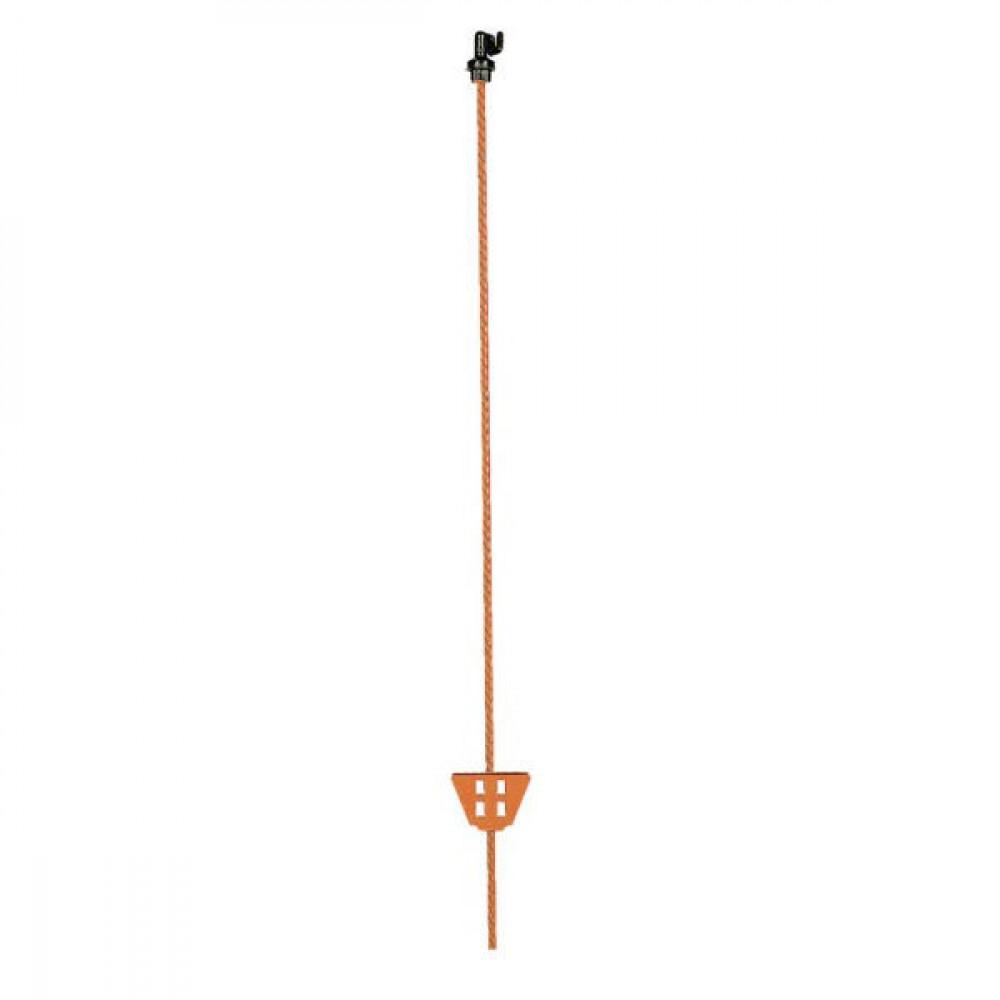 Gallagher Verenstaalpaal ovaal 1,05m - 008902GAL | 100 cm | 11 x 5 mm | 15 cm | Oranje