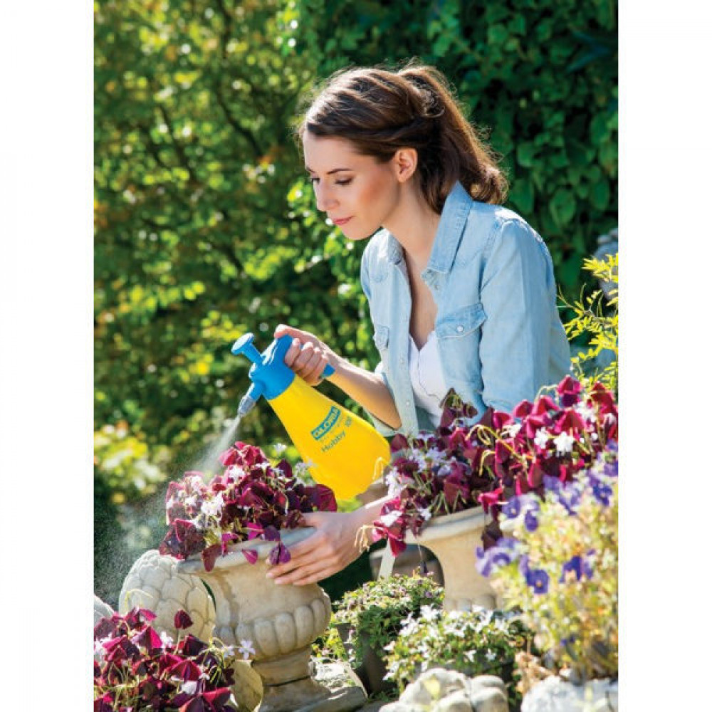 Gloria Drukspuit Hobby 100 (1 L) - 0150000GL | 015.0000 | Complete handsproeier | 0,5 kg | Nee Ja/Nee