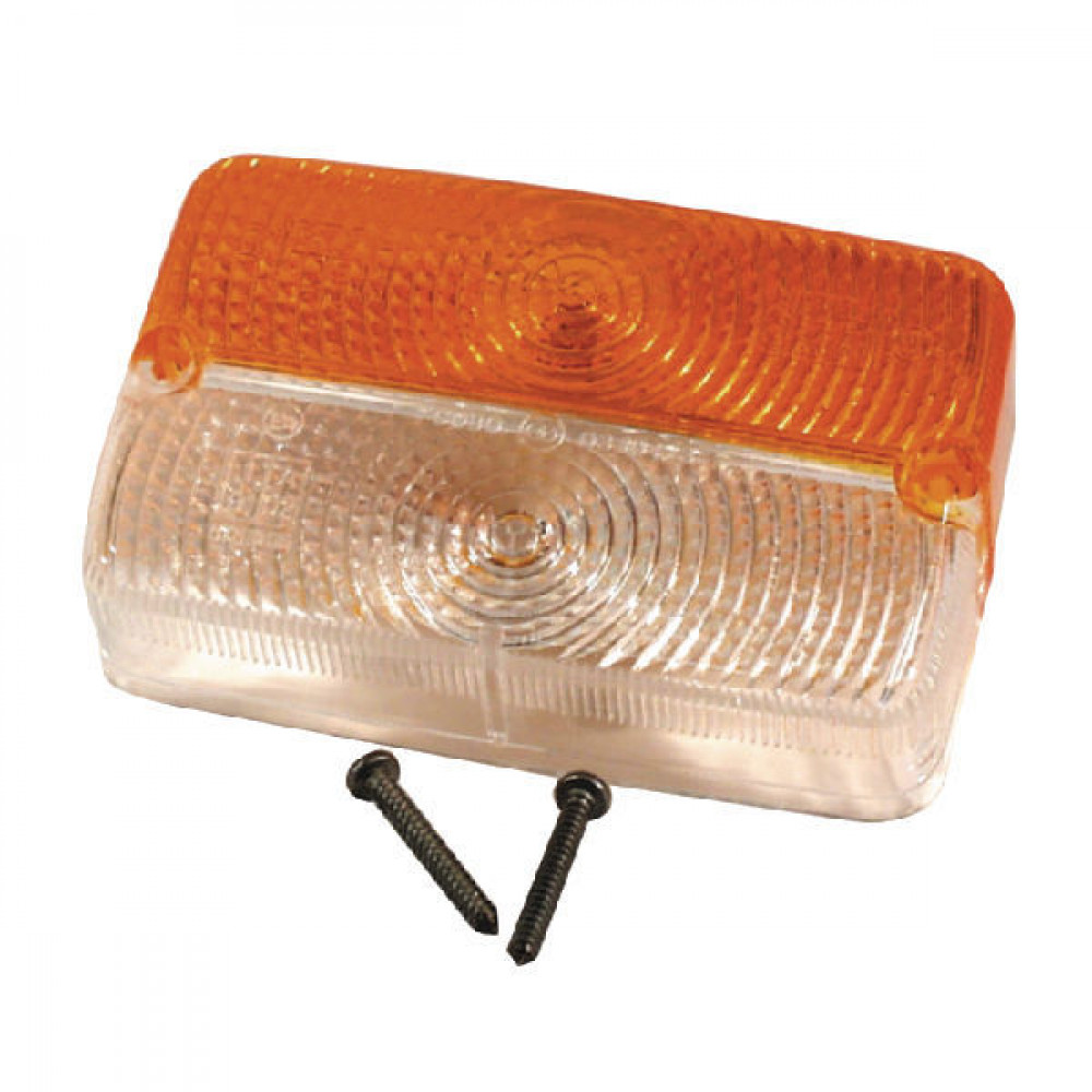 Lampglas voor Cobo - 03104020 | Orange / blanc