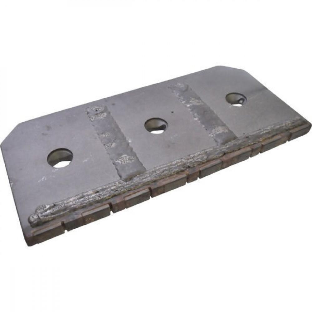 Zoolplaat R/L hardmetaal - 031191CN | 150 mm | Links/rechts | 327 mm