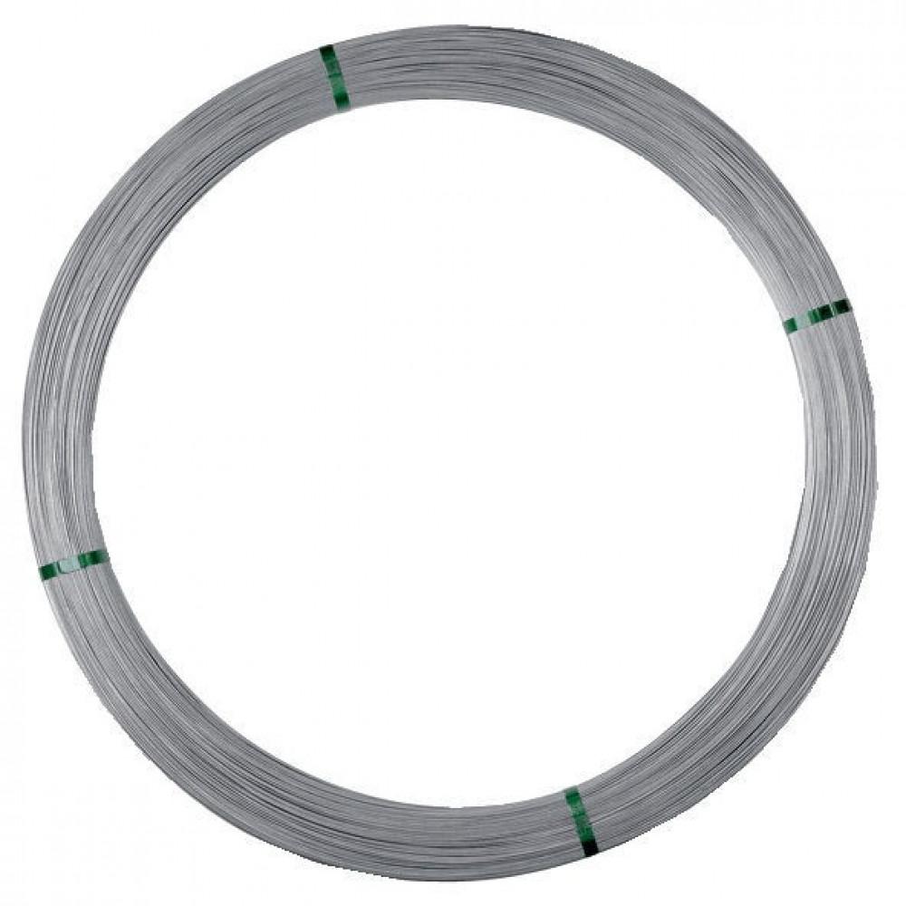 Gallagher Speciaal staaldraad 2,5 mm/25 kg, ca. 625 m - 039999GAL   Roest niet   2.5 mm   500 N/mm² N/mm²   Zink-Aluminium   Zilver