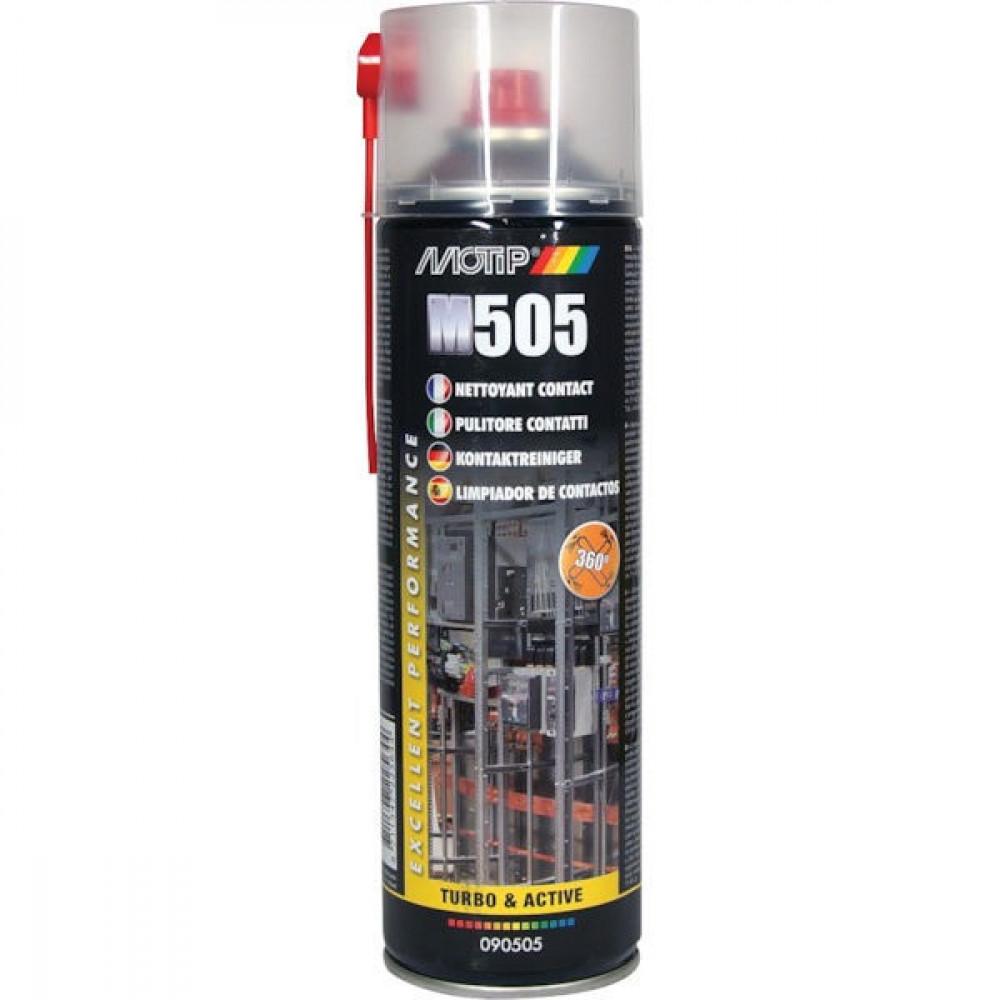 Motip Contactreiniger 500ml - 090505MOT | Niet corrosief | 500 ml