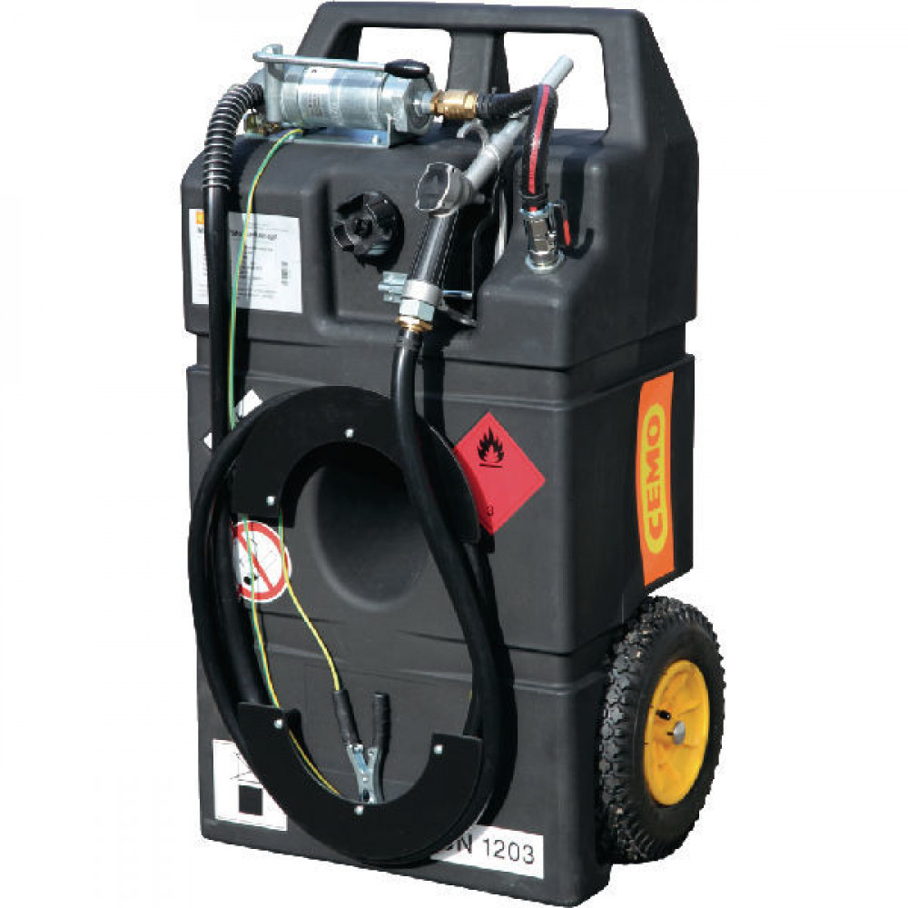 Cemo Brandstoftrolley Ex0 95 l hand - 10162CEMO | Benzine (brandstof) | 900 mm | 530 mm | 330 mm