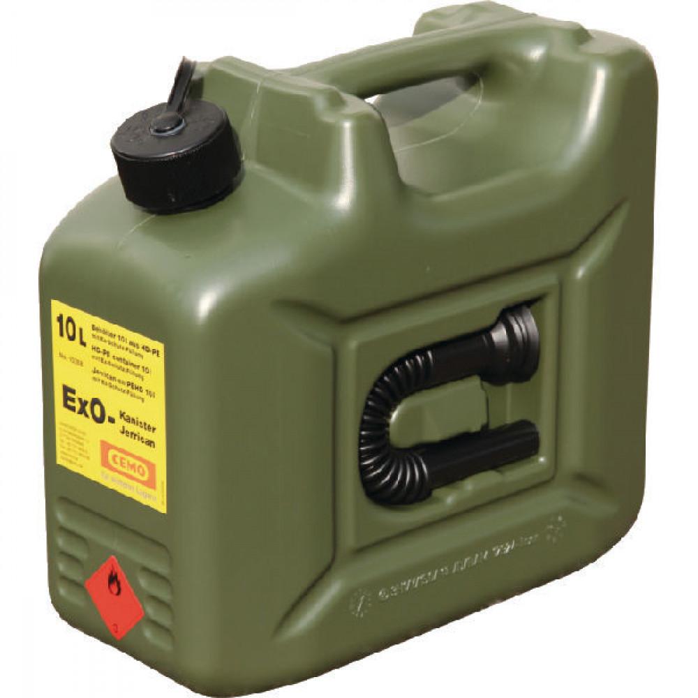 Cemo Jerrycan Ex0 10L - 10268CEMO | Niet-explosief | Brandstof | 10 l