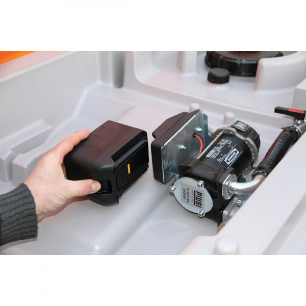 Cemo DT-Mobil Easy 460L 24 V 3,0 Ah - 10414CEMO | Met accuvoeding | 25.2 V | 55 IP | 1160 mm | 800 mm | 860 mm