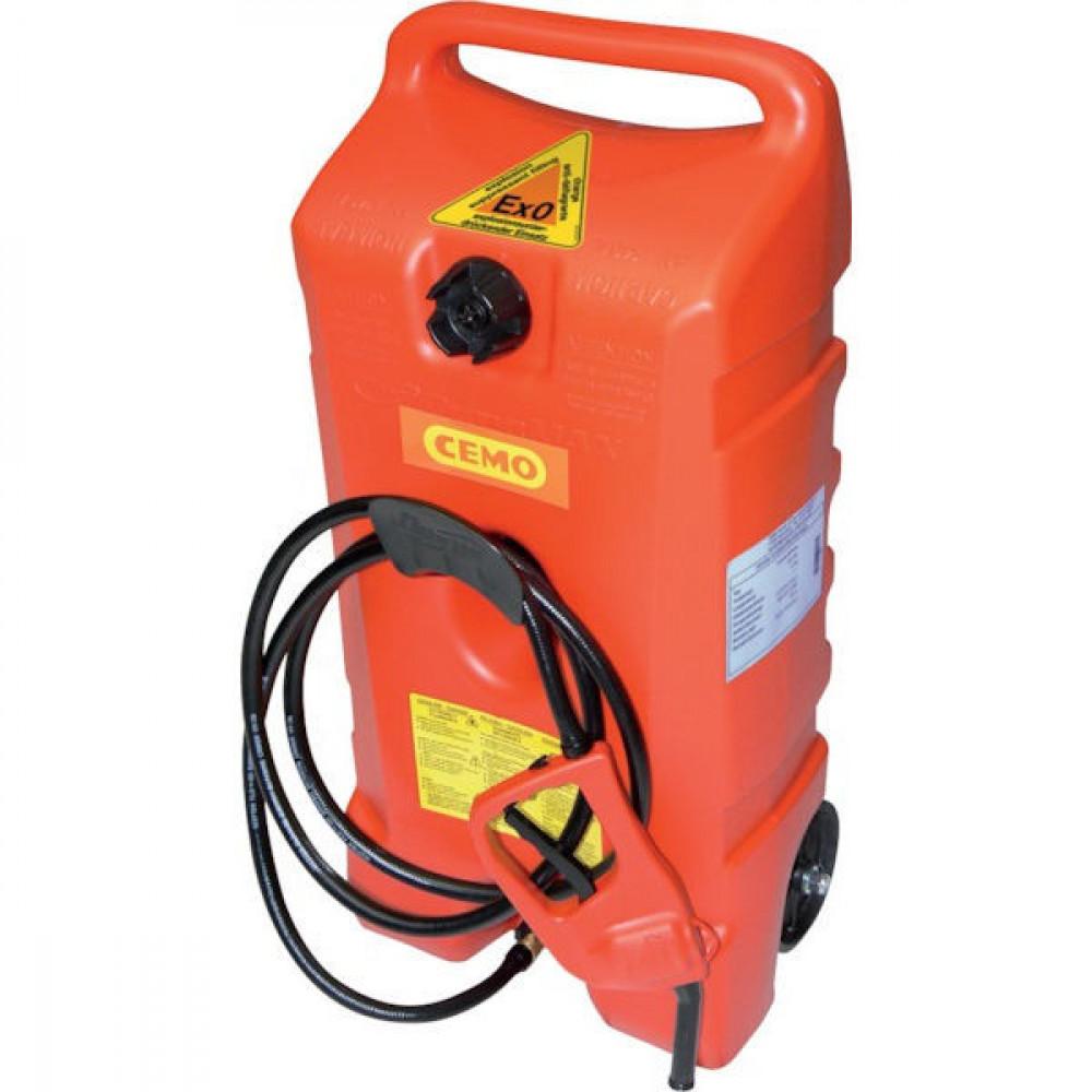 Cemo Brandstoftrolley Ex0 53 l - 10421CEMO | Benzine (brandstof) | 870 mm | 420 mm | 330 mm