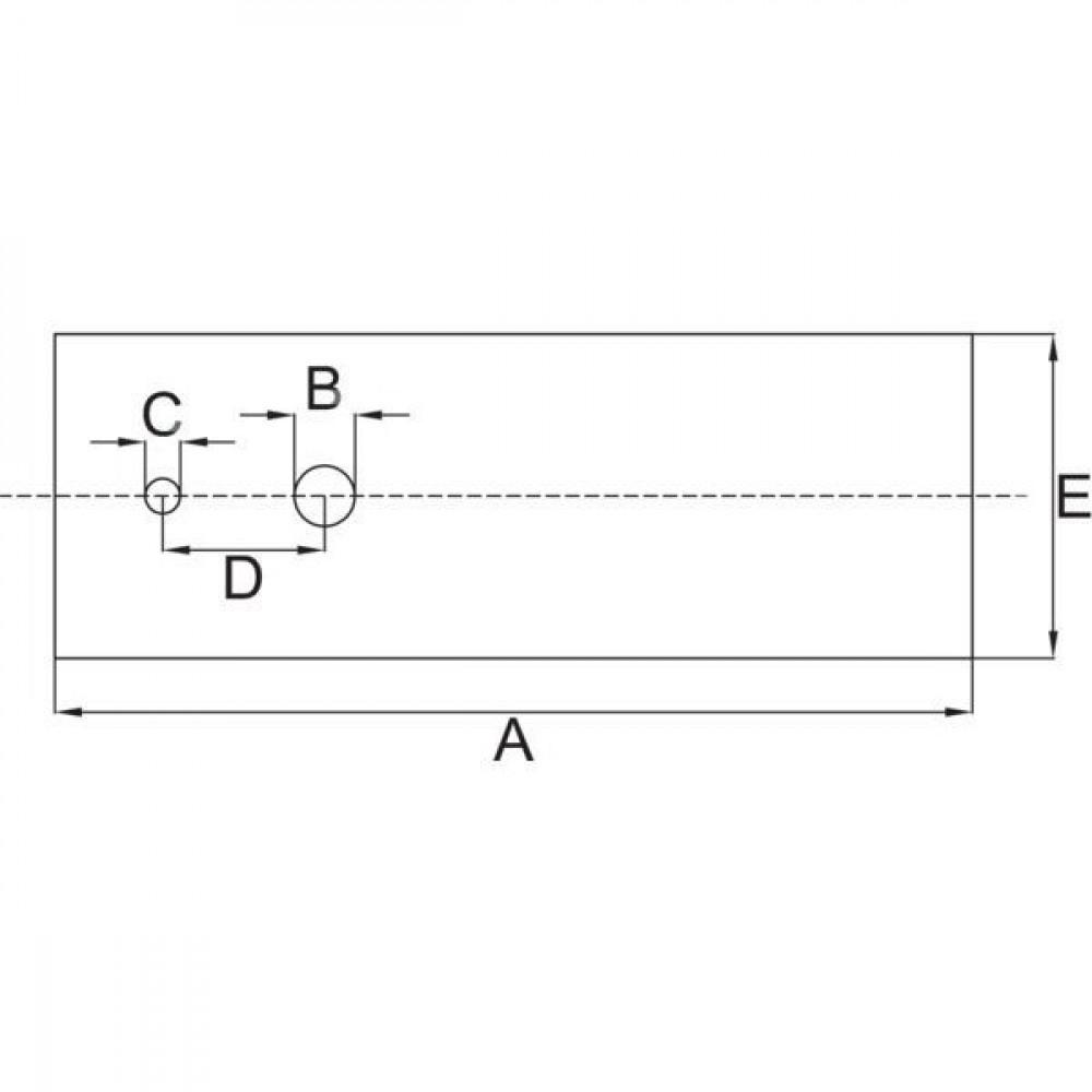 Stiga Mes pvc (set 18-stuks) - 1111913902 | Stiga: 1111-9139-02 | 69 mm | 16 mm | 69 mm | 6,5 / 9,5 mm