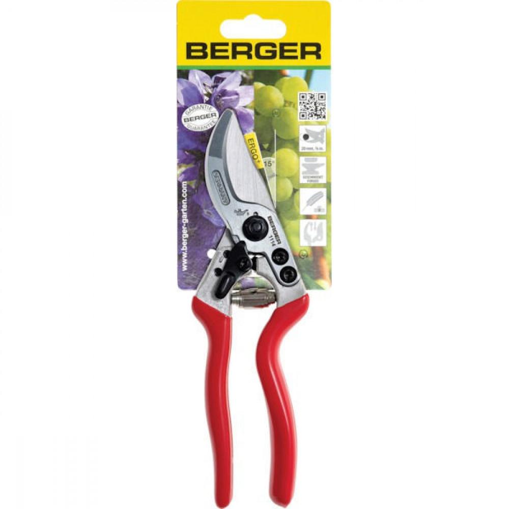 Berger Snoeischaar alu groot gebogen - 1114BER | 215 mm