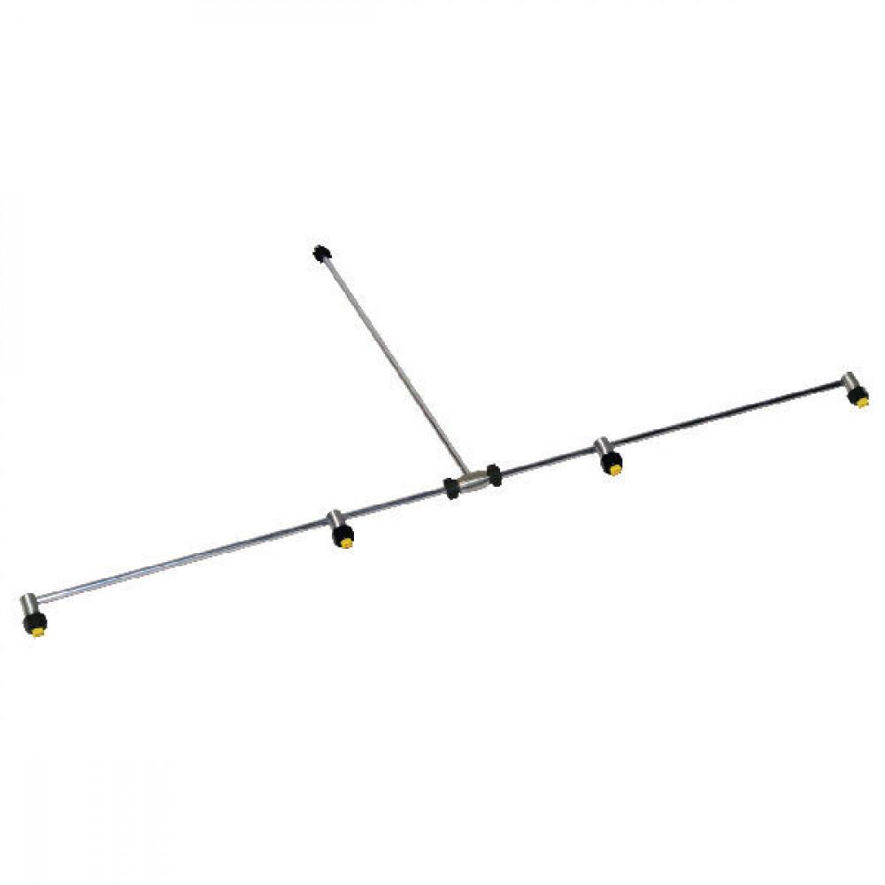 Birchmeier Sproeibalk 4 sproeiers ALU 12 bar - 11889501SBBIR | 1188.9501-SB | 12 bar