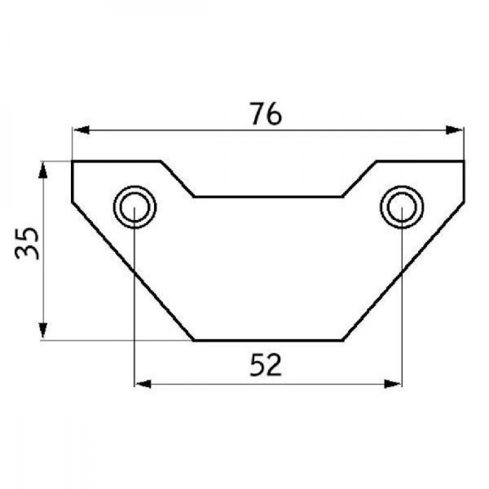 Reinigingsplaat - 13015964N | 3,0 mm