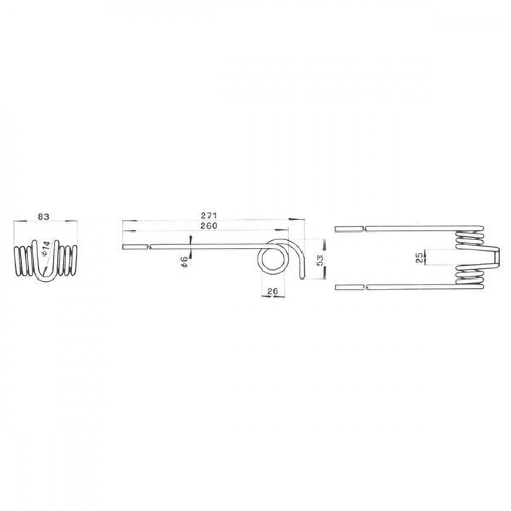 Tand IHC - 13553GAN | 271 mm