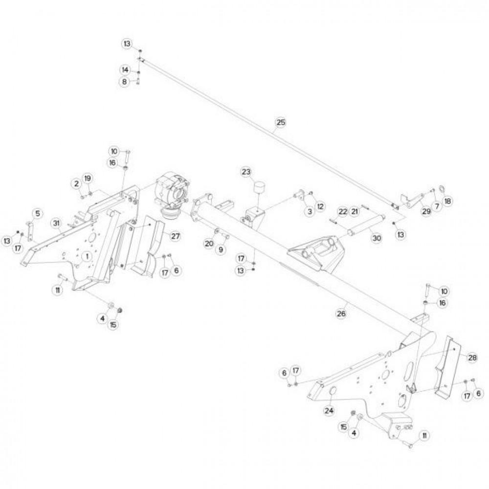 Spanstift 12x60 - 14811260 | Aant.1 | 80451261 | 12 x 60 mm | DIN 1481 | 3,24 kg/100