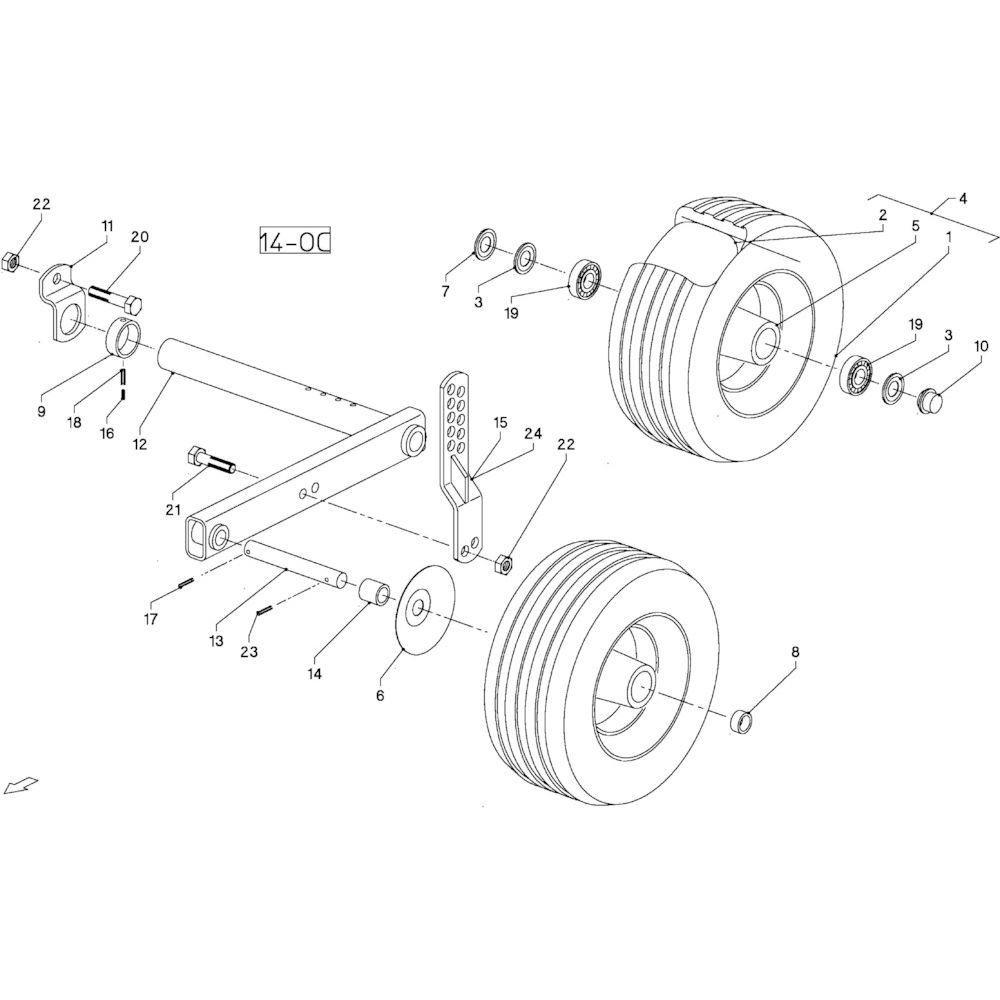 Spanstift 5x60 - 1481560 | Aant.4 | 80450558 | 5 x 60 mm | DIN 1481 | 0,55 kg/100