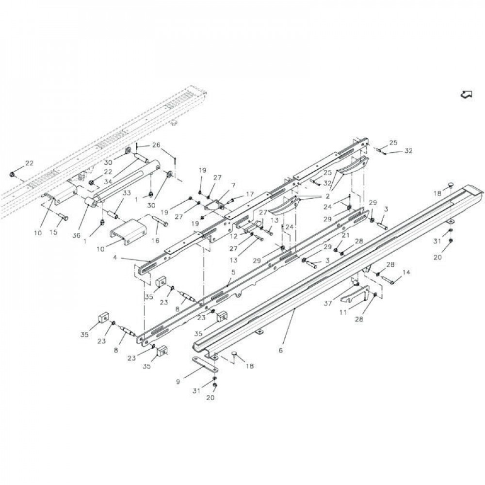 Spanstift 6x36 - 1481636   Aant.8   80450637   6 x 36 mm   DIN 1481   0,48 kg/100