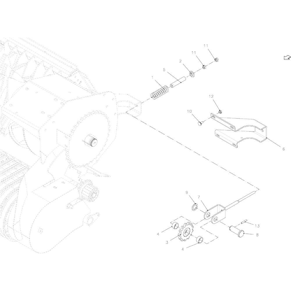 Spanstift 6x45 - 1481645 | Aant.1 | 80450645 | 6 x 45 mm | DIN 1481 | 0,61 kg/100