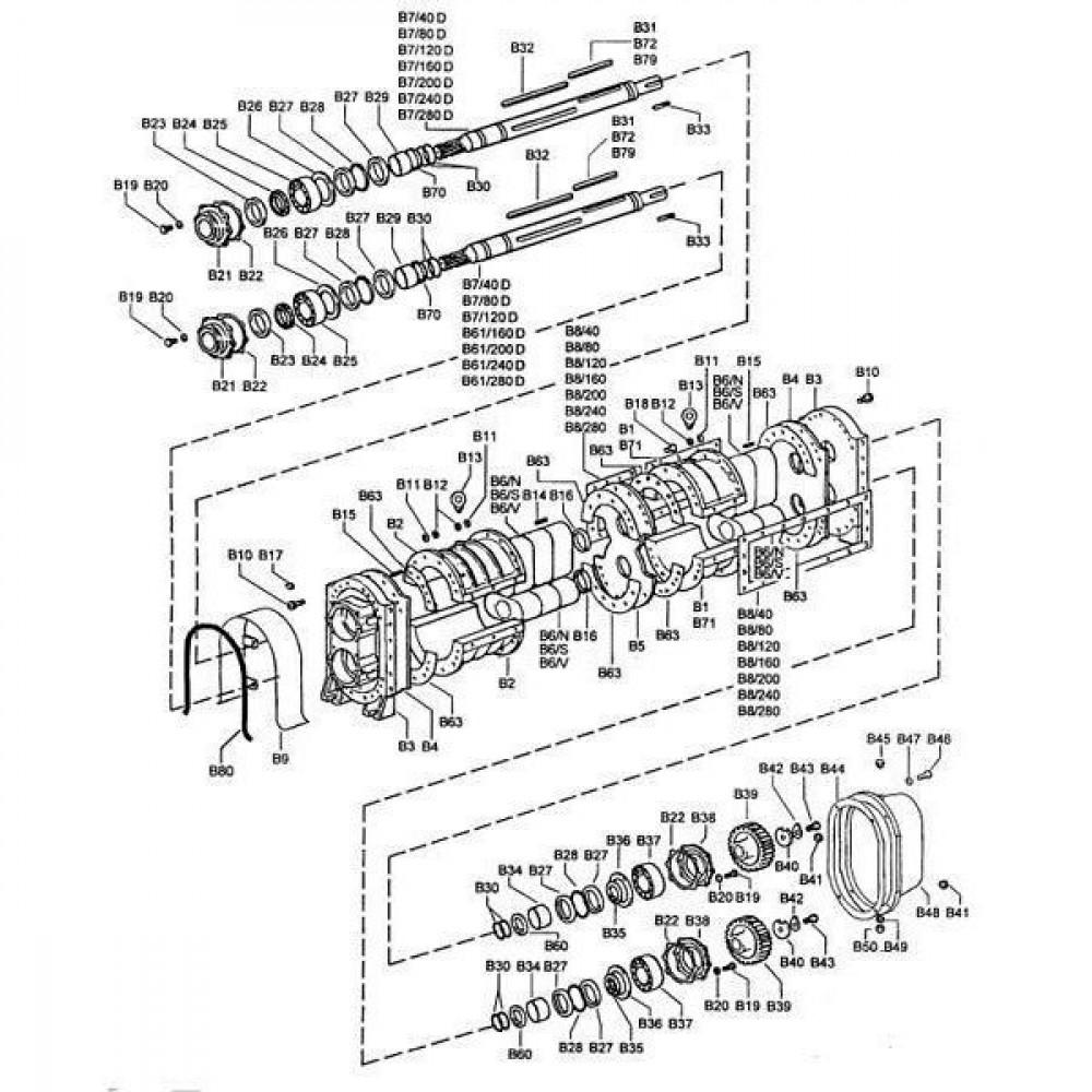 Spanstift 8x40 - 1481840   8 x 40 mm   DIN 1481   0,9 kg/100