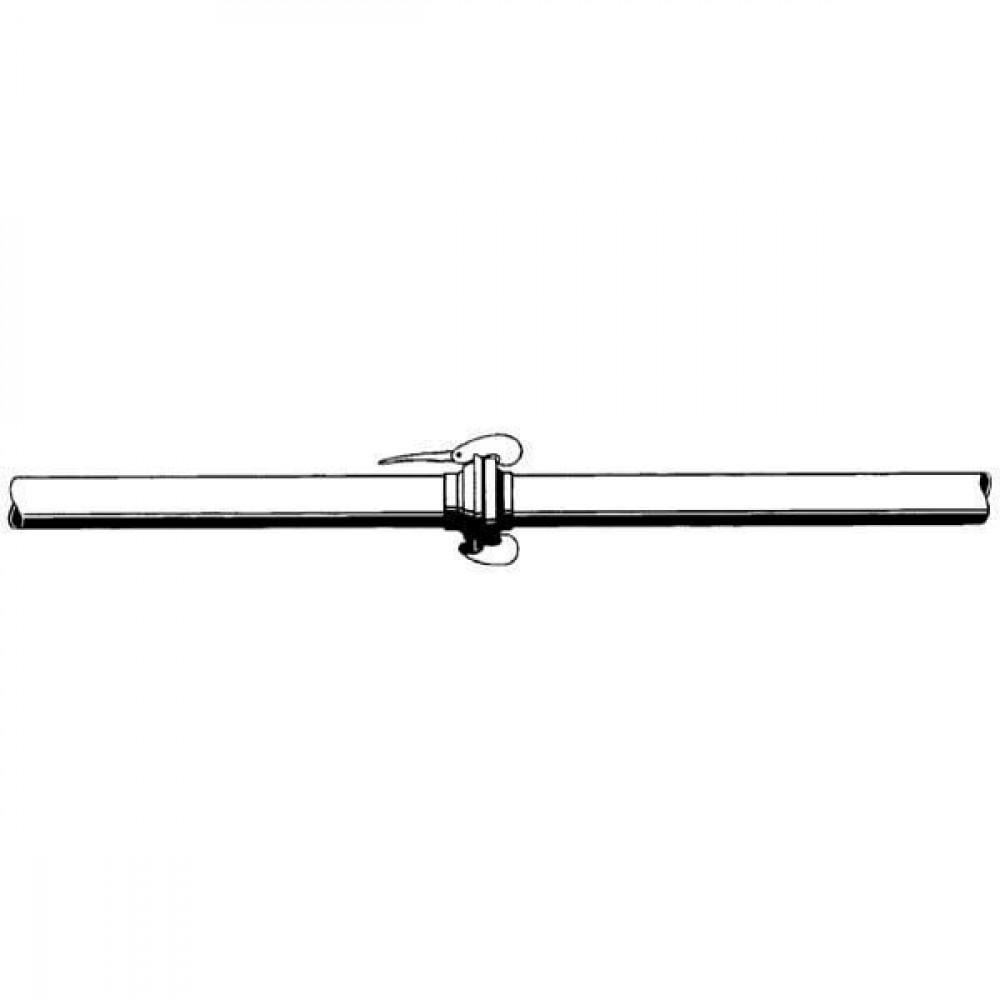 Bauer Buis voor snelkoppeling - 1620116 | 6000 mm | 4 Inch