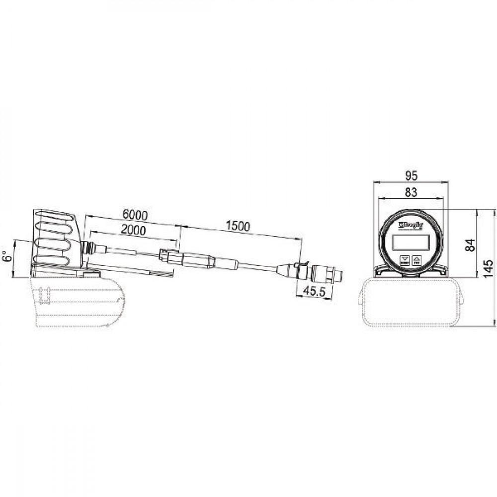 Braglia Drukmeterkit - 20030274 | 0/60 bar