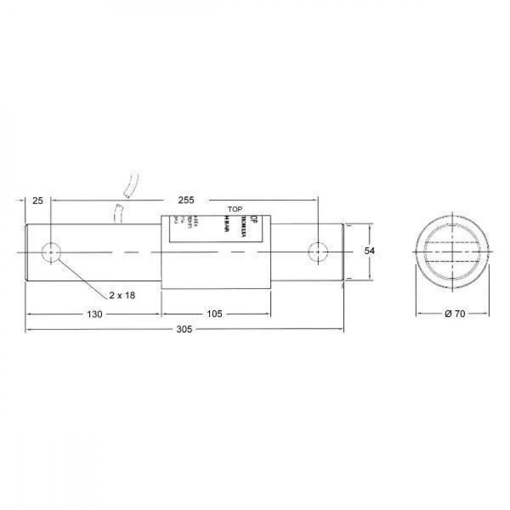 Weegbalk BvL 4 t - 215940420 | 4000 kg