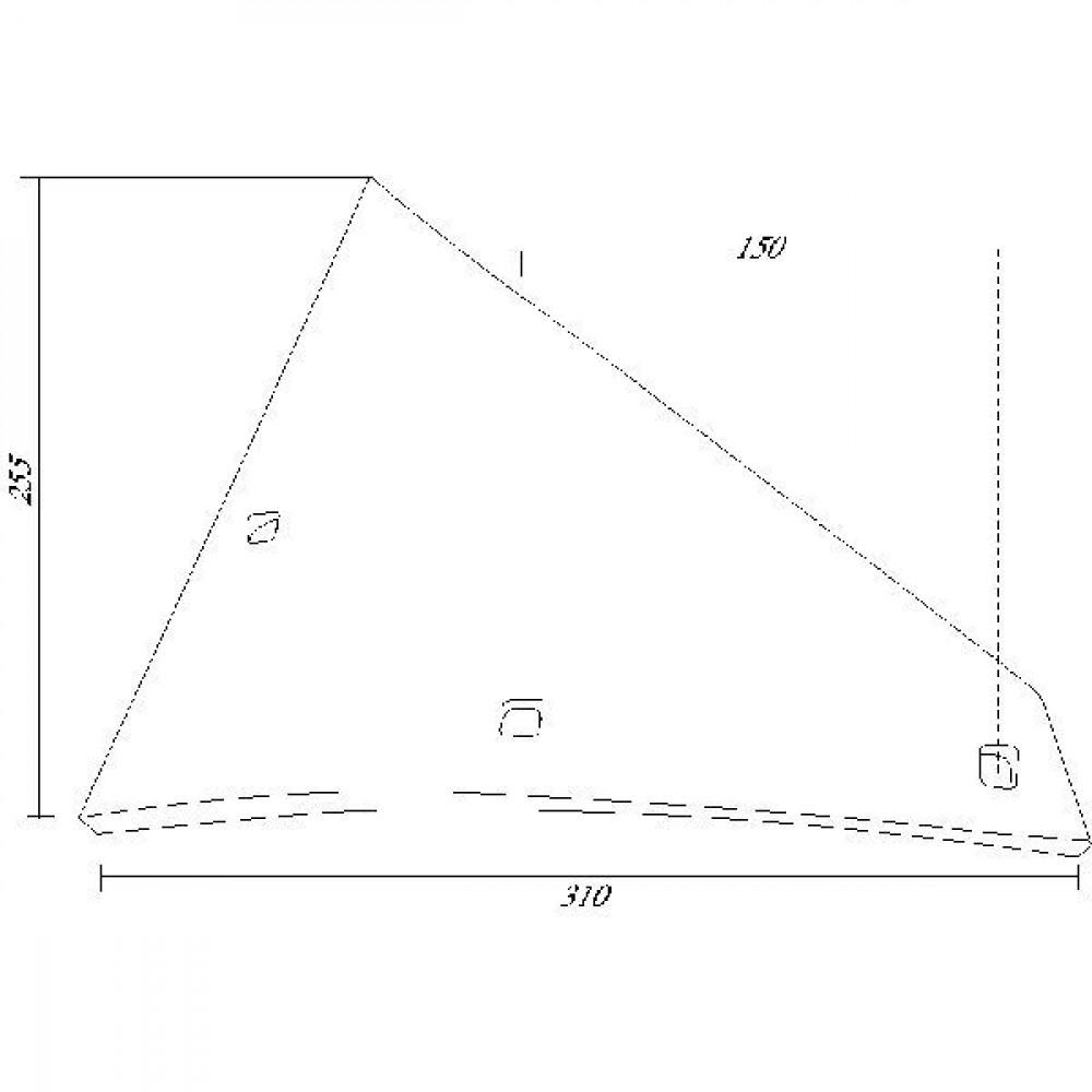 Inzetstuk R. 30ZS Fortschritt - 2210088Z | 3 x 1035VK