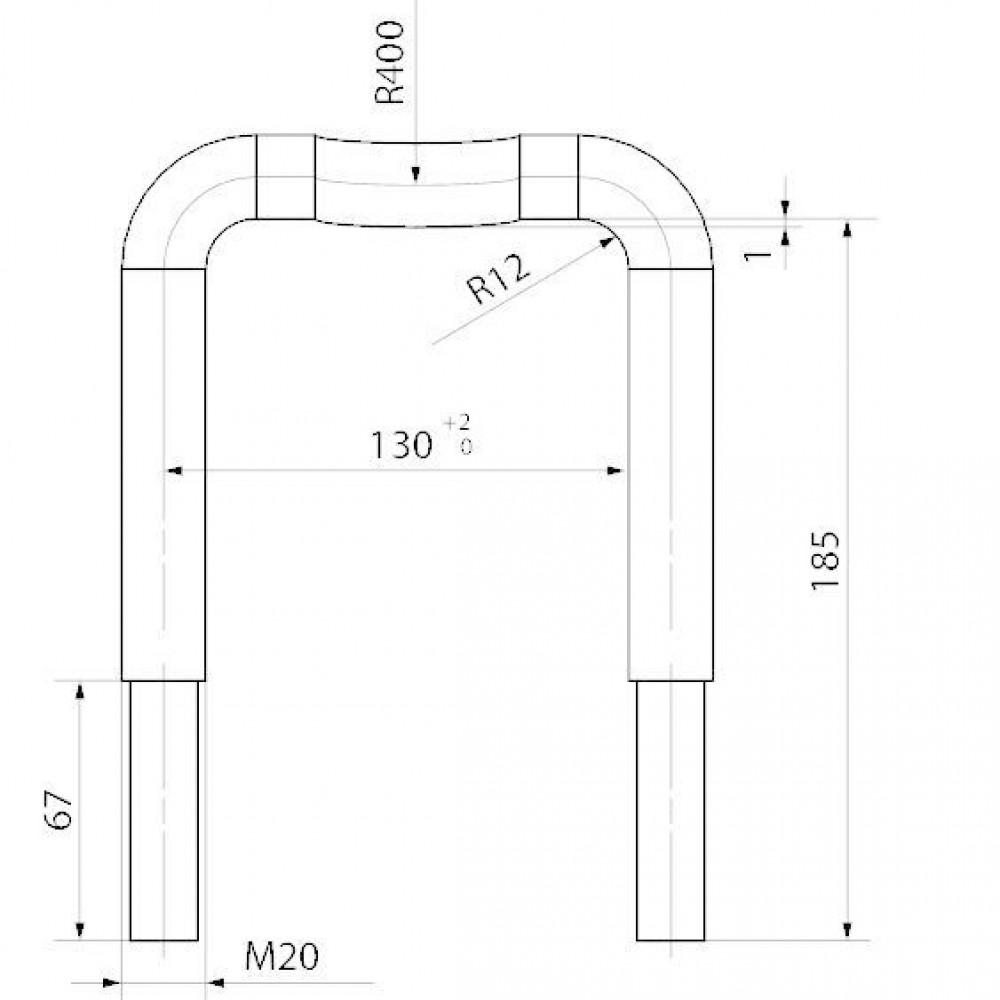 Klembeugel - 2252794Z | 550 mm