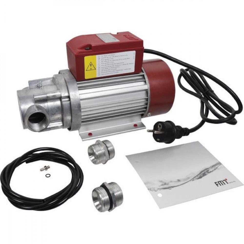 FMT Dieseloliepomp 230V - 60 l/m - 23100   2.800 Rpm   60 l/min   5 m   280 x 115 x 170   6,4 kg   1 Inch