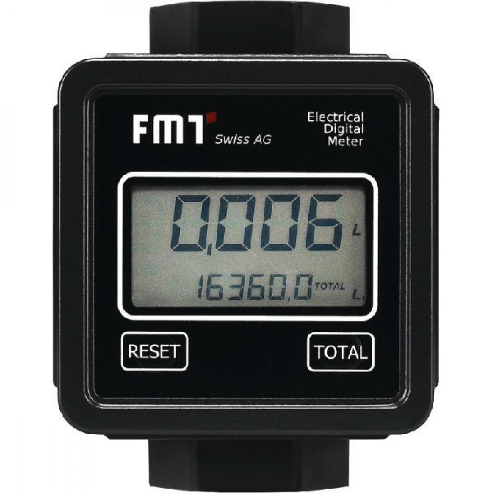 Pressol Diesel-literteller digitaal - 23295 | 1 Inch | 2-100 l/min