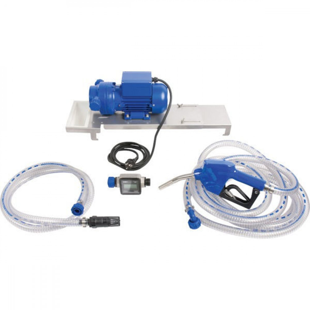 Pressol AdBlue-pomp 35l/min 230V automatisch tankpistool - 25225001 | Gemonteerd op grondplaat