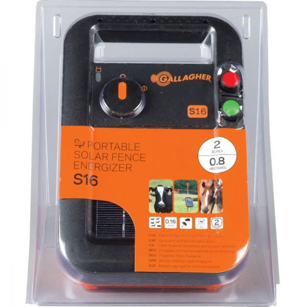 Gallagher S16 inclusief batterij - 341316GAL