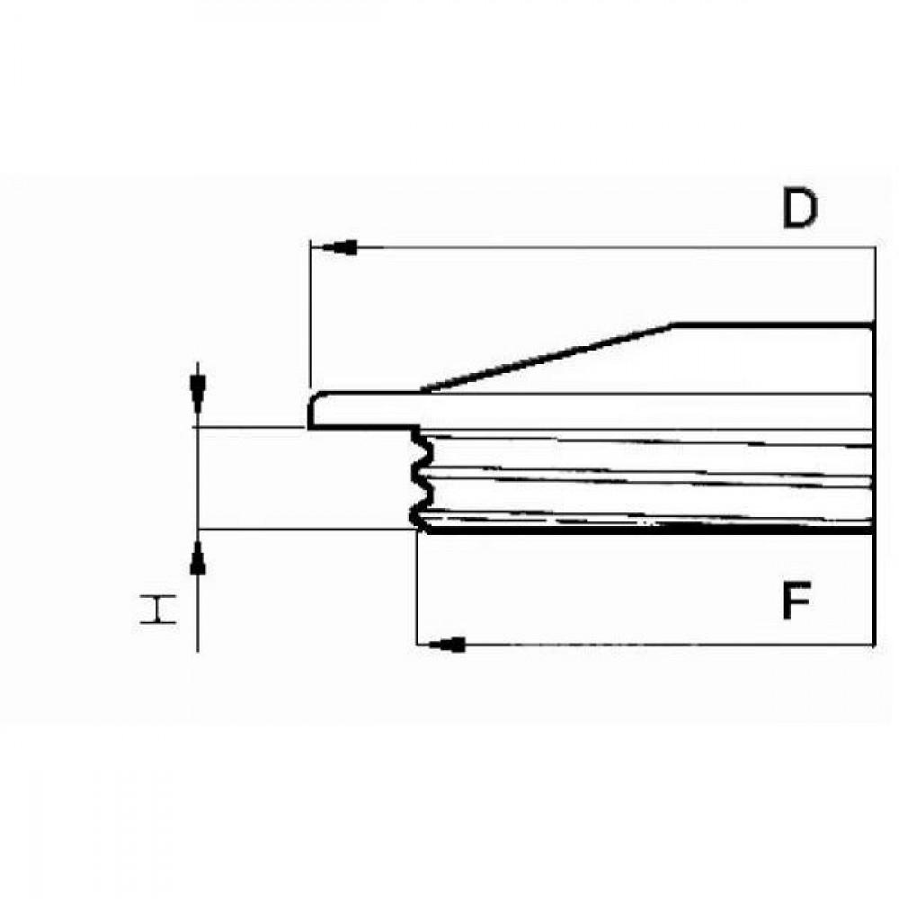 Arag Schroefdeksel dicht - 352180 | 620 mm | 567 mm | 30 mm