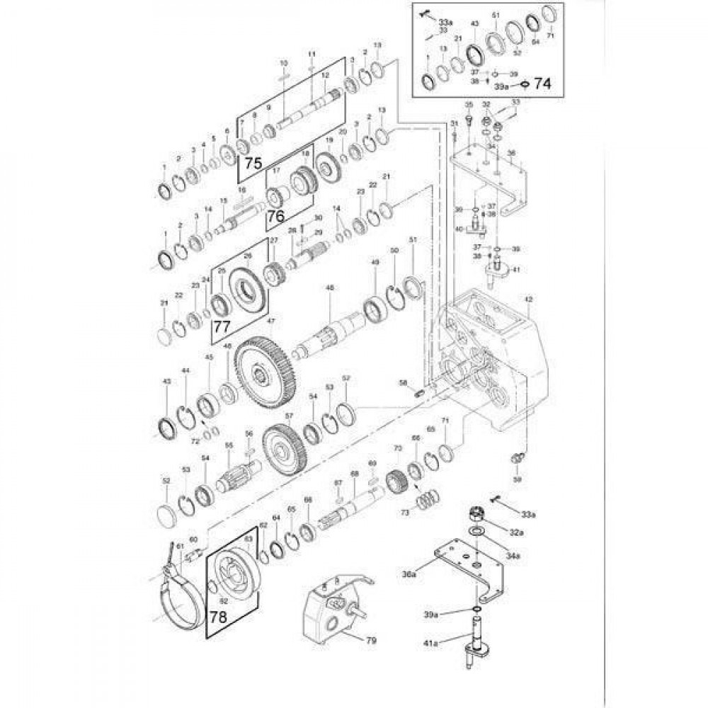 Oliekeerring 35x62x10 - 356210CCP001 | 35 mm | 62 mm | 10 mm | Nitrilrubber (NBR) | Verenstaal