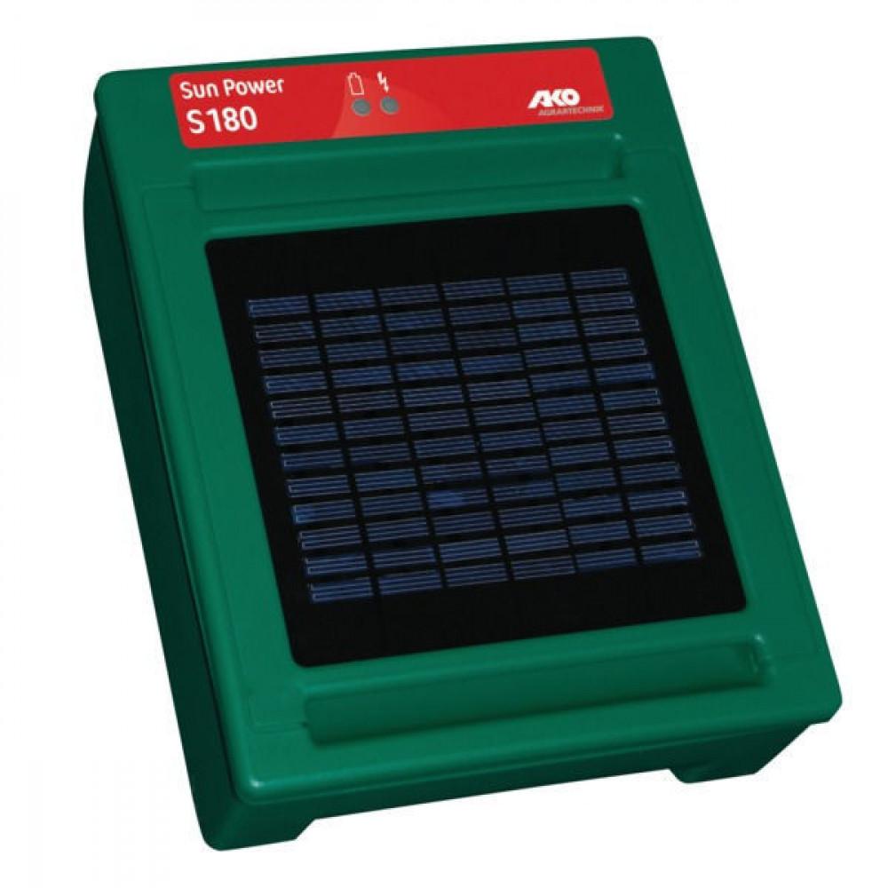 AKO Zon-energ.-app. Sun Power S180 - 372021   Sun Power S180   8000 V   0,23 Joule   0,18 Joule   0,5 km   8-20 mA