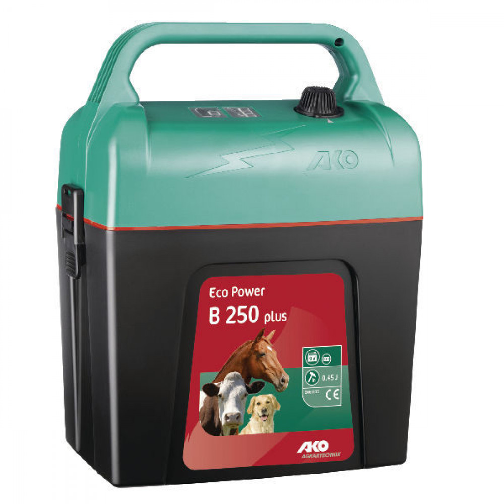AKO B250 Eco Power plus - 372029 | Zuinig | 3 jaar garantie | 10500 V | 3200 V | 0,45 Joule | 0,25 Joule | 0,7 km | 14-37 mA