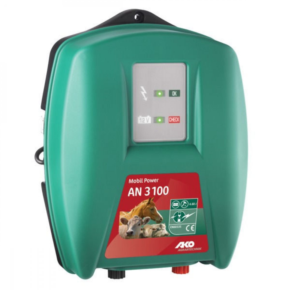 AKO Accuapp. Mobil Power AN3100 - 372311 | AN 3100 | 10800 V | 5000 V | 4,6 Joule | 3 Joule | 43 300 mA