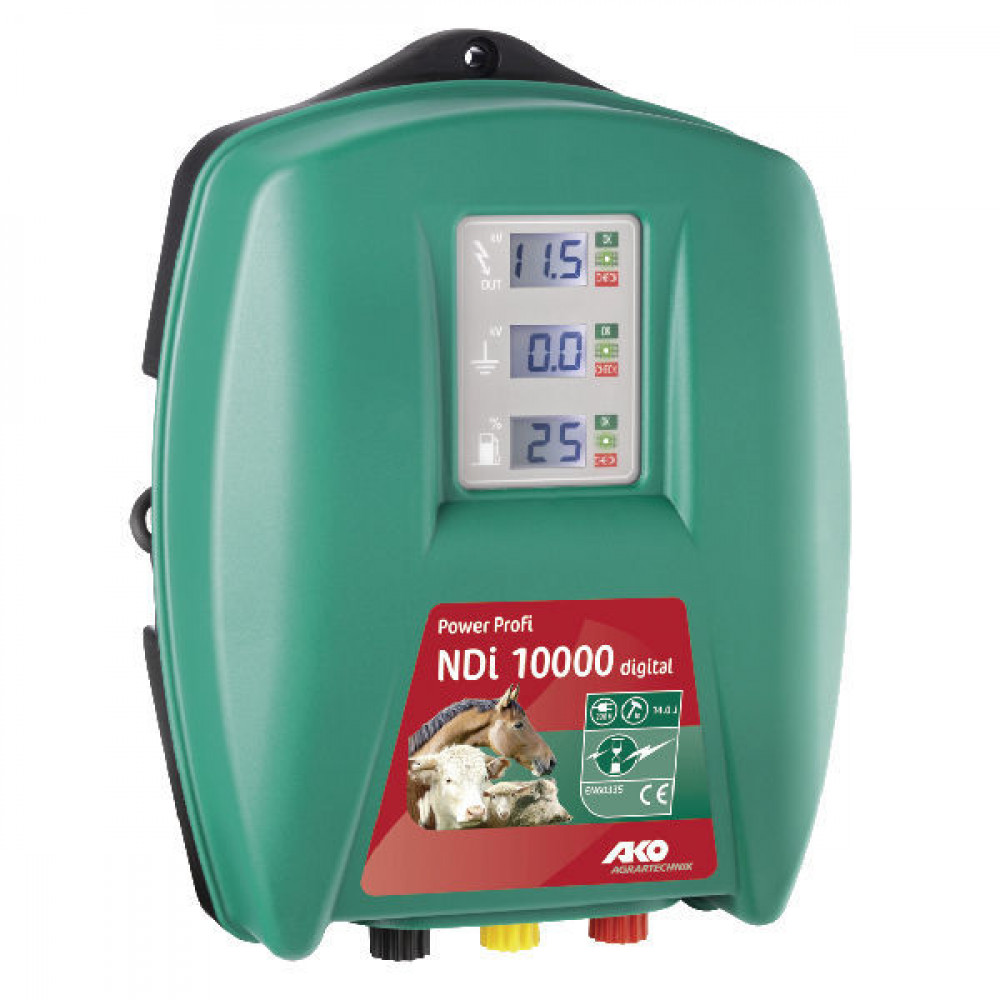 AKO PowerProfi NDI 10000, 230V - 372810 | NDI 10000 | 11.600 V | 8.200 V | 14 Joule | 10 Joule | 300 km | 25 pcs