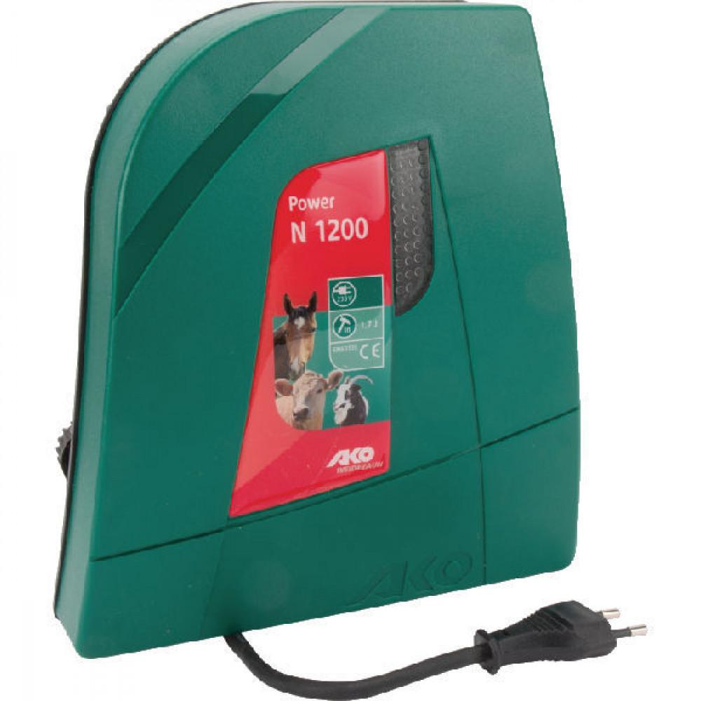 AKO Afrasteringsapp. Power N1200 - 372881 | Functie controlelamp | 3 jaar garantie | 12500 V | 3400 V | 1,7 Joule | 1,2 Joule