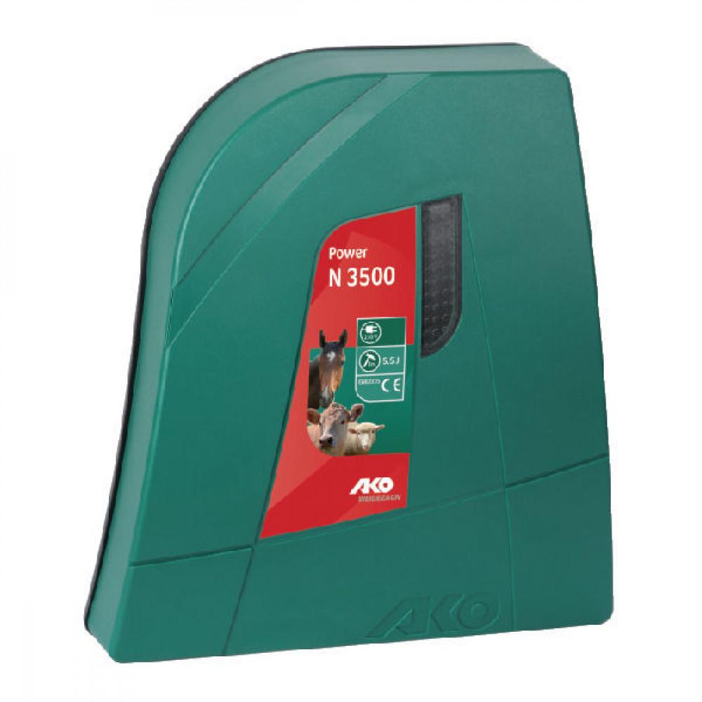 AKO Afrasteringsapp. Power N3500 - 372883   3 jaar garantie   11500 V   5700 V   5,5 Joule   3,5 Joule   2,5 km