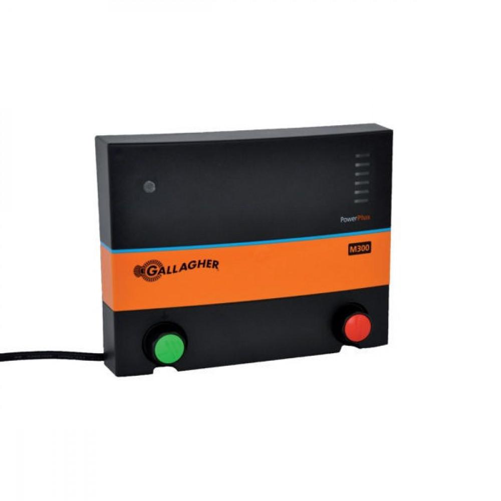 Gallagher PowerPlus M300s - 380339GAL   Onderhoudsvrij   Kostenbesparend   8400 V   4800 V   3,2 Joule   2,2 Joule