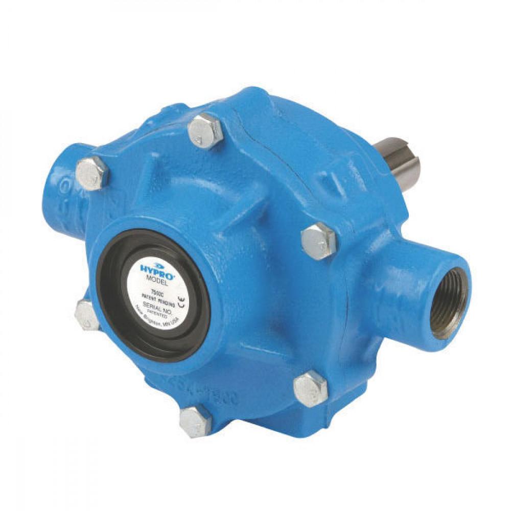 "Hypro Pomp 45 l/min 540 omw/min - 397560A | 20.6 bar | 15/16"" (23.8 mm) | 3/4"" Inch | 3/4"" Inch | 60 °C | Gietijzer | 5,89 kg"