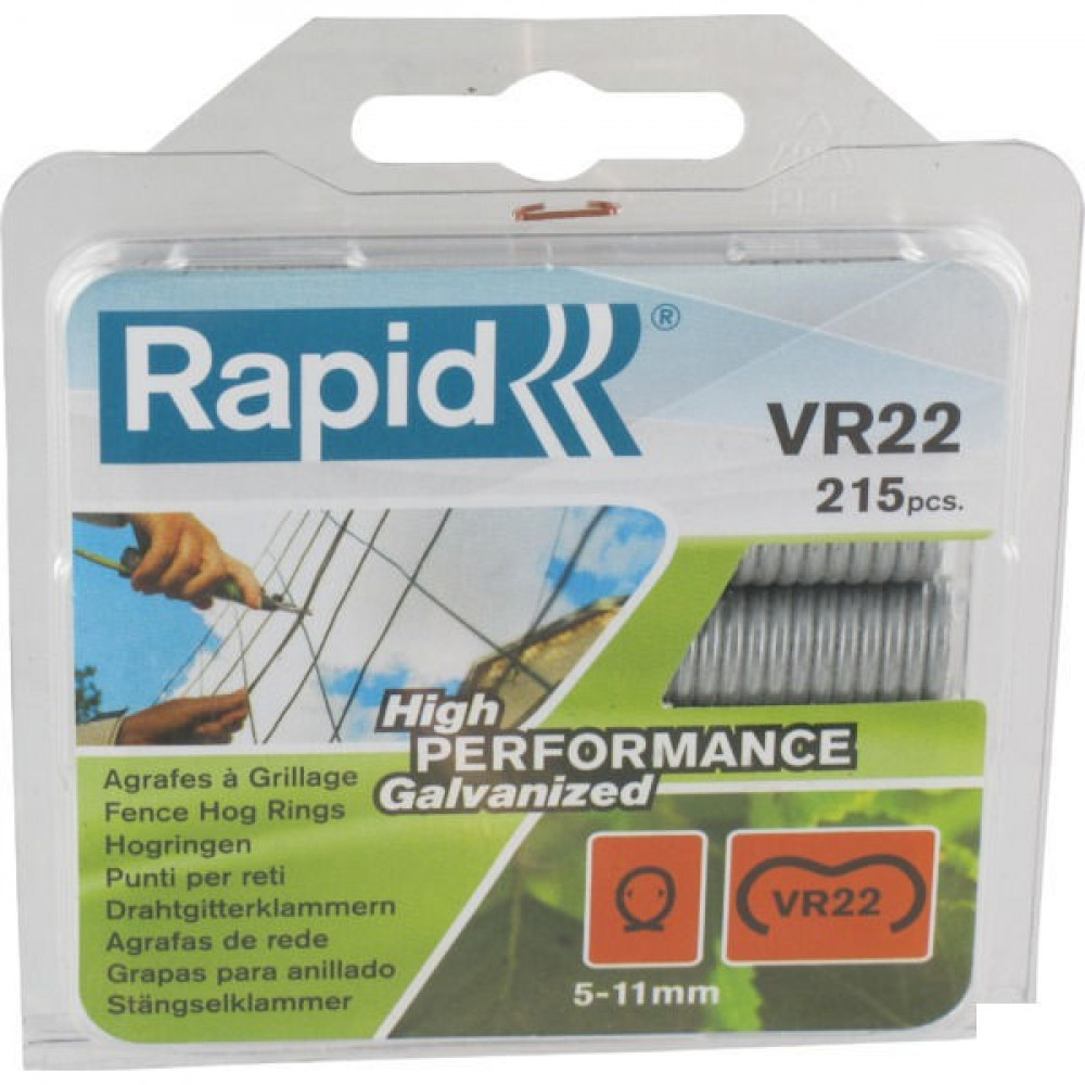 Rapid Hogring VR22 galv. - 40108801 | 5 11 mm