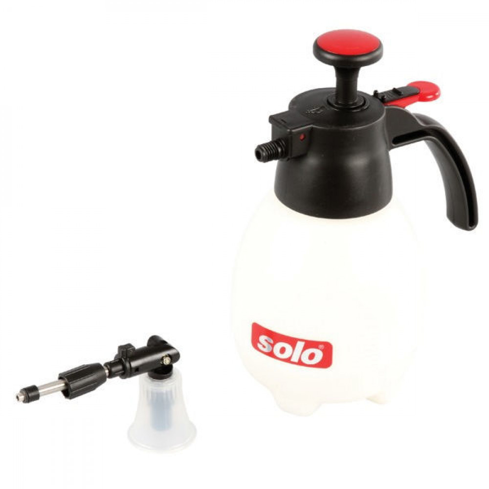 Solo Drukspuit 401 - 1 liter - 401SP | Complete handsproeier | Zuigerpomp | 0,39 kg | Nee Ja/Nee