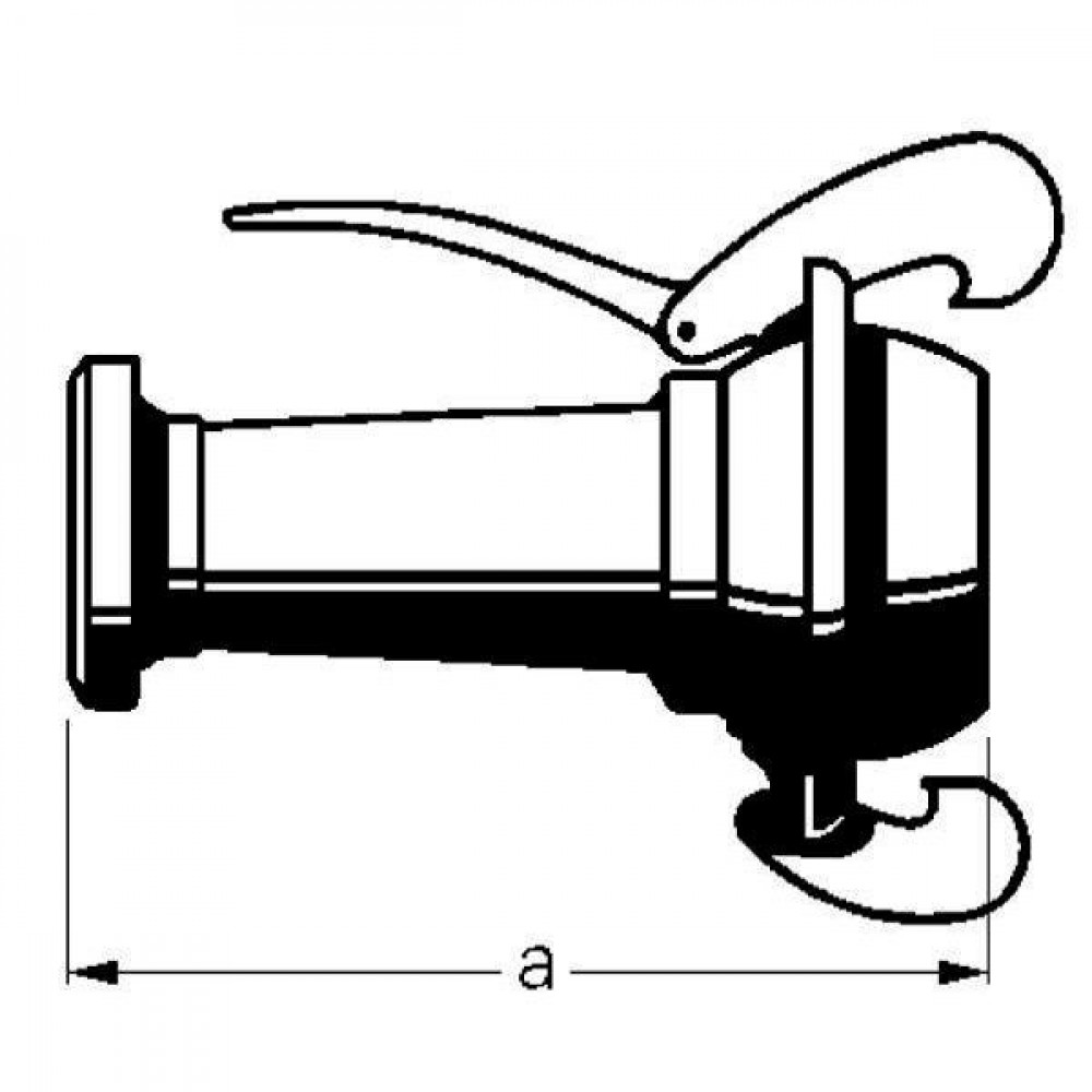 "KKM 4""+KKV 6"" kopp. Bauer - 4261000Z | Inclusief o-ring | 4 Inch | 6 Inch"