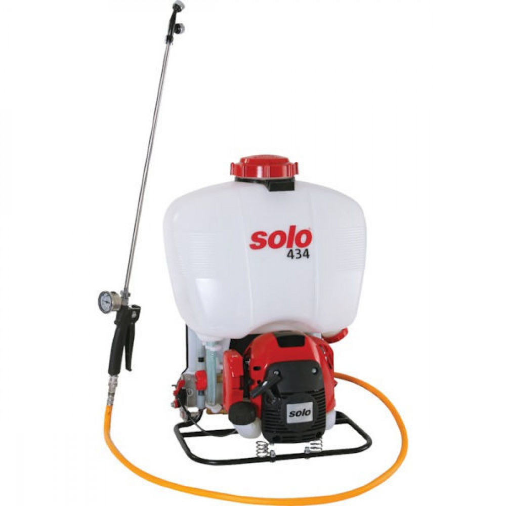 Solo Motorrugspuit 434-18 L. - 434SP | Plunjerpomp | Solo 2 takt | 0,7 / 1.0 kW | 9,3 kg | 92,4 dB(A) | 25 bar