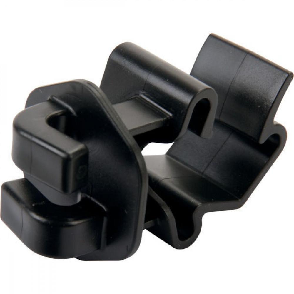 AKO T-post koordisolator zwart - 441189