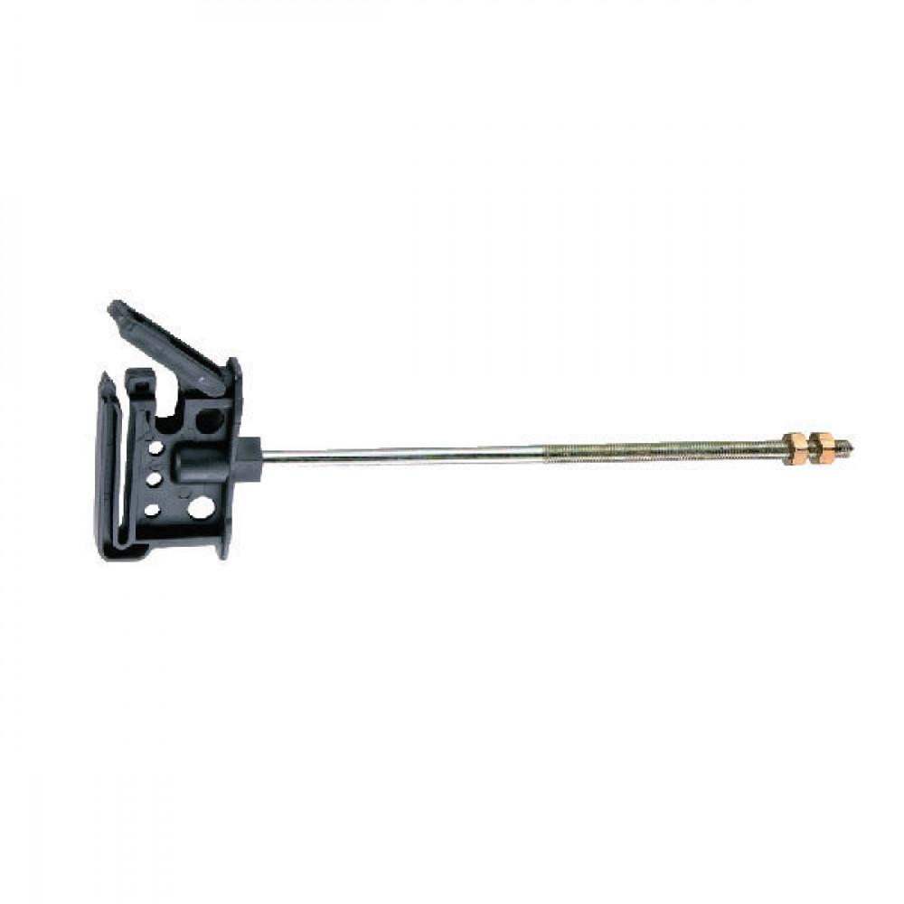 AKO Lintisolator met metrische draad M6 x 200 - 441393 | Met 20 cm lange steun