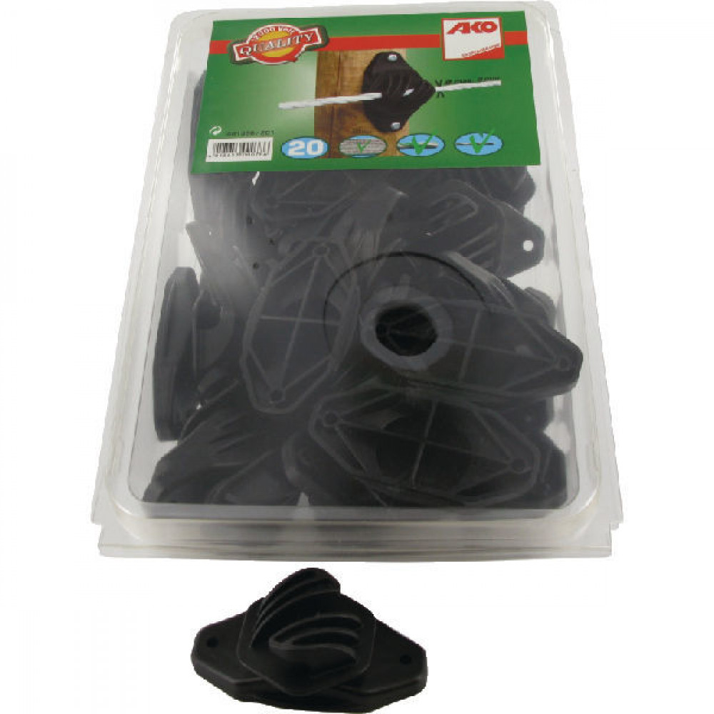 AKO Koordisolator zwart 20st - 441396201