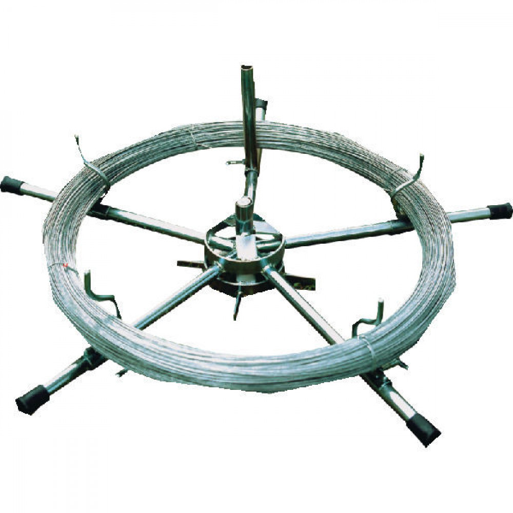 AKO Draadafroller voor gladdedraad - 44279 | Verzinkte uitvoering