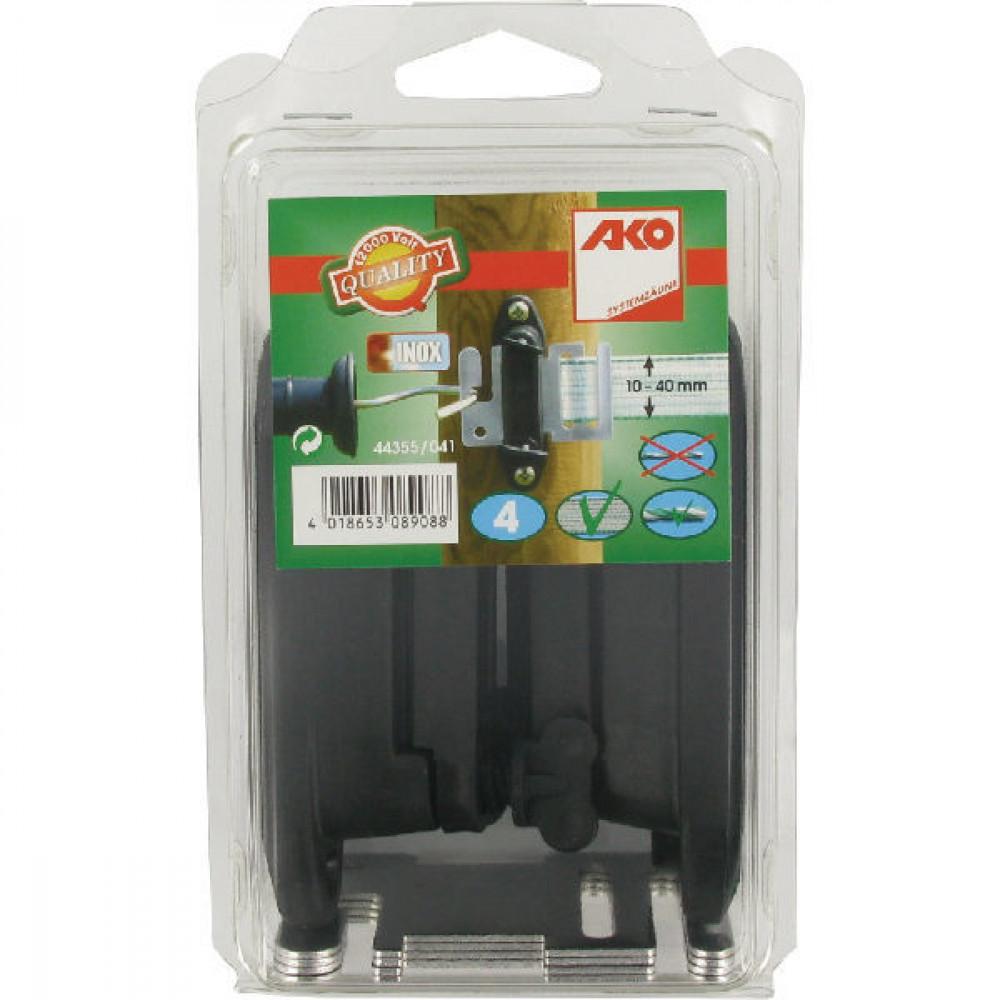 AKO Poortgreep lintisolator a 4 st - 44355041 | Voor poortgreep en lint