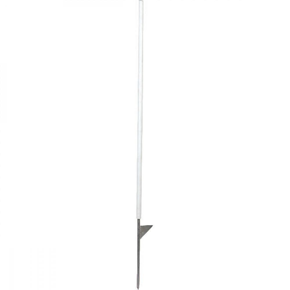 AKO Kunststof paal wit 106cm - 44405   5 jaar uv-garantie   106 cm   21 cm   met opstap